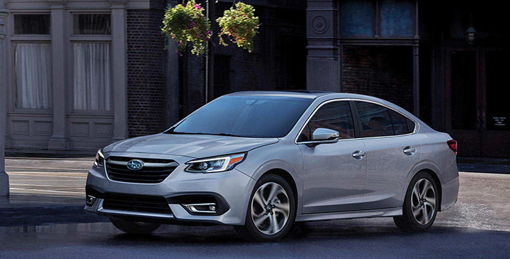 2020 Subaru Legacy safety