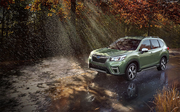 2021 Subaru Forester performance