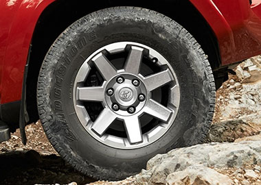 2015 Toyota 4Runner alloy wheels