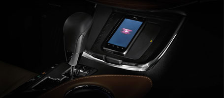 2015 Toyota Avalon Hybrid  wireless charging