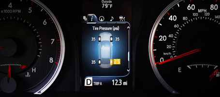 2015 Toyota Camry Tire Pressure Monitor System