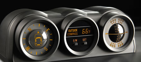 2015 Toyota FJ Cruiser Instrument panel