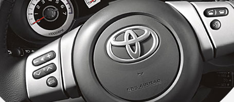2015 Toyota FJ Cruiser Steering wheel