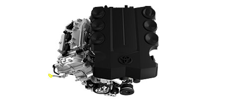 2015 Toyota FJ Cruiser engine