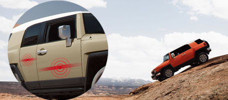 2015 Toyota FJ Cruiser Side-impact door beams