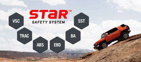 2015 Toyota FJ Cruiser Star Safety System