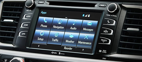 2015 Toyota Highlander Hybrid entertainment system