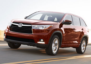 2015 Toyota Highlander design