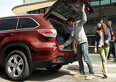 2015 Toyota Highlander liftgate