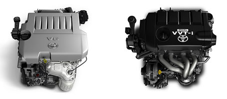 2015 Toyota Highlander engine