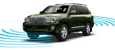 2015 Toyota Land Cruiser Parking assist