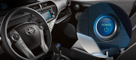 2015 Toyota Prius c Push Button Start