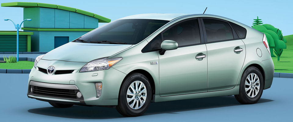 2015 Toyota Prius Plug-in Hybrid Appearance Main Img