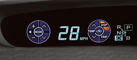 2015 Toyota Prius Multi-Information Display