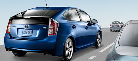 2015 Toyota Prius Vehicle Proximity Notification System