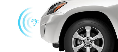 2015 Toyota Rav4 EV Vehicle Proximity Notification