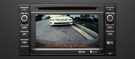 2015 Toyota Sequoia Backup camera
