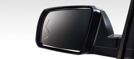 2015 Toyota Sequoia Blind Spot Monitor