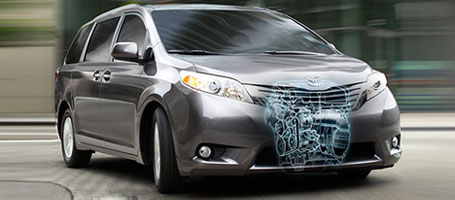 2015 Toyota Sienna engine