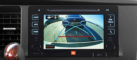 2015 Toyota Sienna backup camera