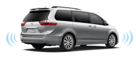 2015 Toyota Sienna Parking assist