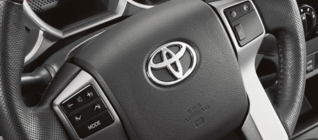 2015 Toyota Tacoma Steering wheel