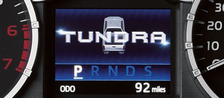 2015 Toyota Tundra Multi-Information Display