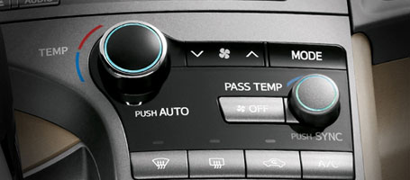 2015 Toyota Venza climate control