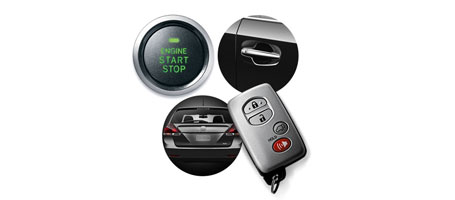 2015 Toyota Venza Smart Key