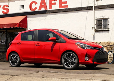 2015 Toyota Yaris appearance