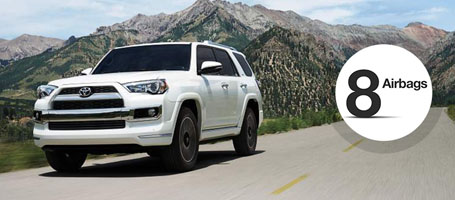 2016 Toyota 4Runner airbags