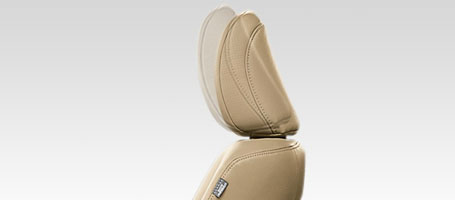 2016 Toyota 4Runner headrest