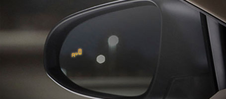 2016 Toyota Avalon Blind Spot Monitor
