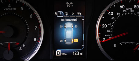 2016 Toyota Camry Hybrid Tire Pressure Monitor System