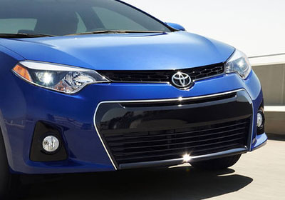 2016 Toyota Corolla grille