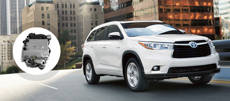 2016 Toyota Highlander Hybrid engine