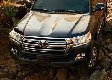 2016 Toyota Land Cruiser appearance