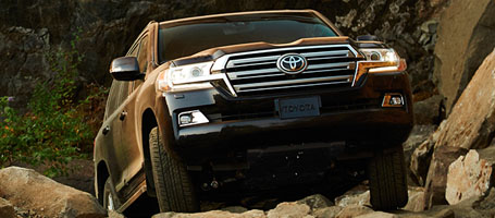 2016 Toyota Land Cruiser performance