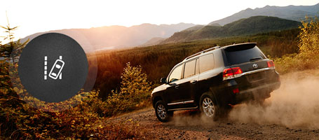 2016 Toyota Land Cruiser Lane Departure Alert