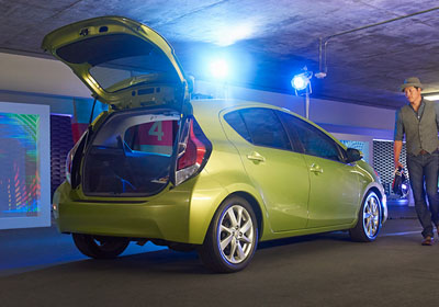 2016 Toyota Prius C appearance