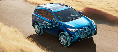 2016 Toyota Rav4 Hybrid All-Wheel Drive