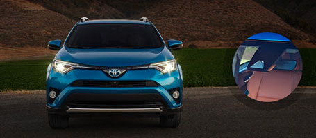 2016 Toyota Rav4 High Beams