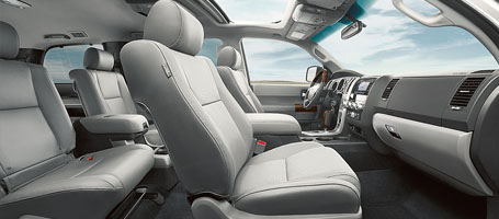 2016 Toyota Sequoia leather seats