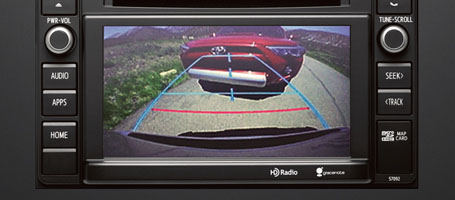 2016 Toyota Sequoia Backup camera