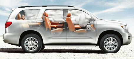 2016 Toyota Sequoia Airbags