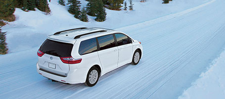 2016 Toyota Sienna All-Wheel Drive