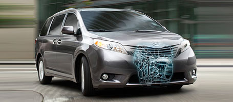 2016 Toyota Sienna performance