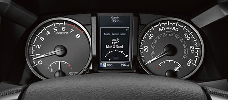 2016 Toyota Tacoma Multi-Information Display
