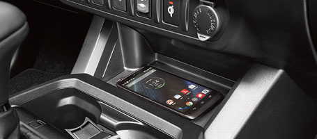 2016 Toyota Tacoma wireless charging