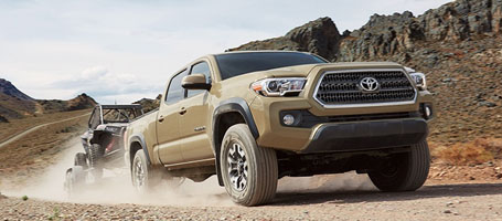 2016 Toyota Tacoma Towing